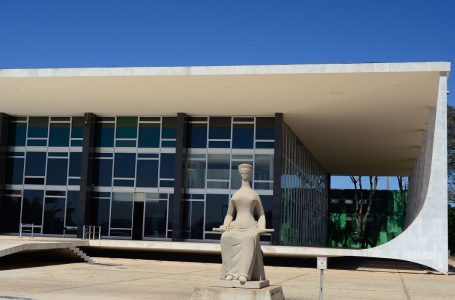 Fachada do edifício sede do Supremo Tribunal Federal – STF